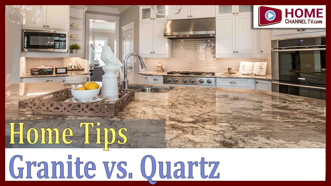 Granite vs Quartz Countertops - Home Channel TV Home Tips - Kitchen Countertops