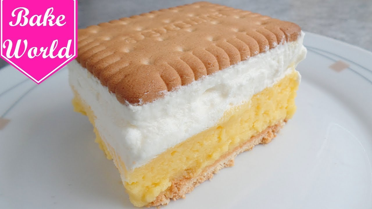 Butterkeks Kuchen Butterkeks Torte Kekskuchen Ohne Backen