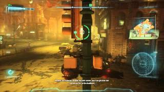 Batman: Arkham Knight - Destroy The Cloudburst: Defeat The Cloudburst Tank Fight (Chinatown in Gas)