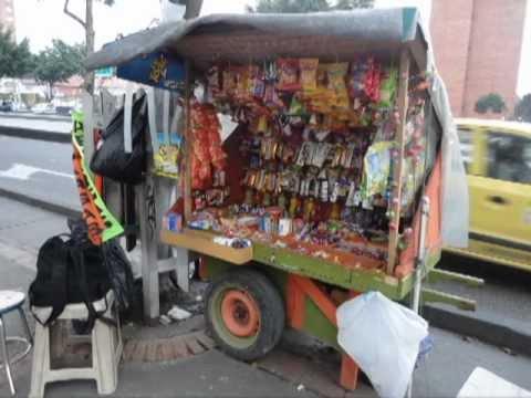 Reportaje vendedores ambulantes youtube - Carro de frutas ...