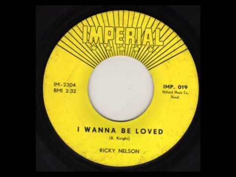 Ricky Nelson - I Wanna Be Loved (Stereo Remix)