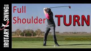 EVERYONE can make a FULL SHOULDER TURN in golf!