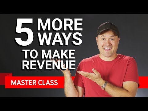 5 More Ways to Monetize | Master Class ft. Tim Schmoyer