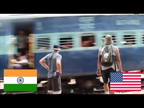 Living on TRAIN TRACKS in New Delhi INDIA!!