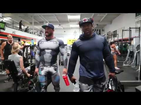 Road to Olympia 2018 | Leg Day Workout