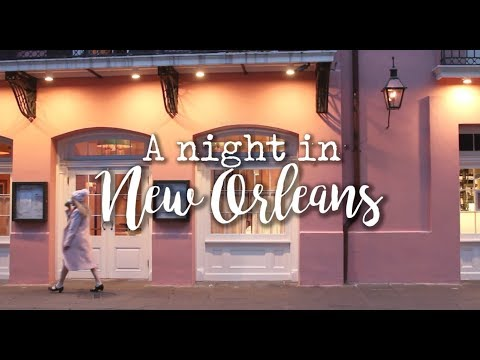 A Night in New Orleans (Cafes, Ghost Tour, and Bars)
