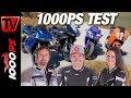 Ducati 996, Yamaha R1, KTM RC8 und Buell 1125R - Supersport Legenden Vergleich