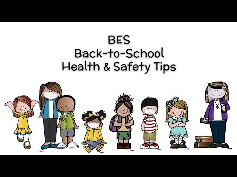 BES Back-to-School Health and Safety Tips