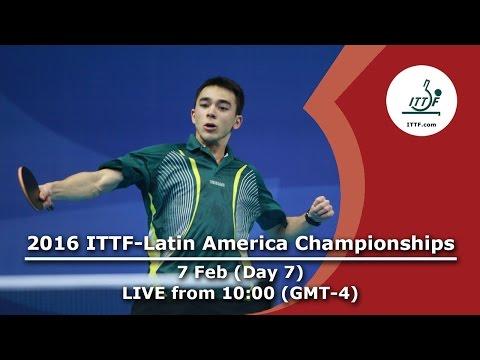 2016 ITTF-Latin American Championships - Day 7
