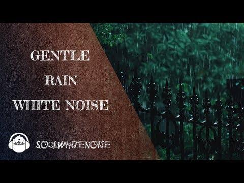Gentle Rain White Noise To Fall Asleep In Seconds | Sleep Like A Pro
