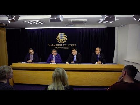Valitsuse pressikonverents, 7. detsember 2017