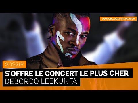 Debordo Leekunfa s'offre le concert le plus cher du coupé décalé