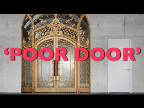 \u0027Poor Door\u0027 in NYC Apartment Humiliates Low Income Residents & Poor Door\u0027 in NYC Apartment Humiliates Low Income Residents - YouTube