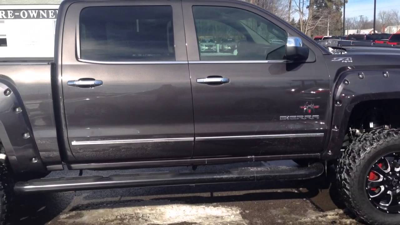 2014 Gmc Sierra Southern Comfort Black Widow Lifted