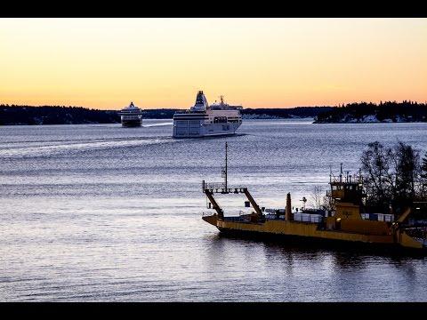 Stockholm (Sweden) Riga (Latvia) Tallink 2015 HD