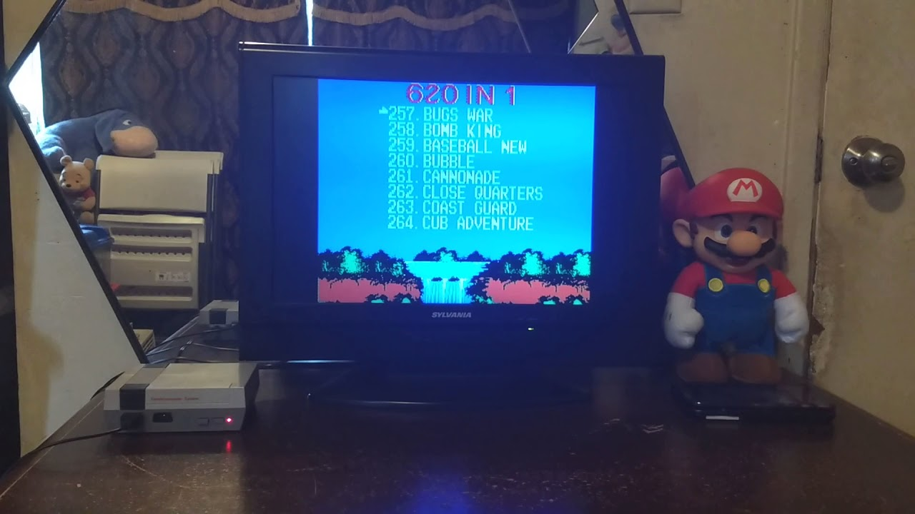 Mini Game Anniversary Edition Entertainment System Built In 620 Games Youtube