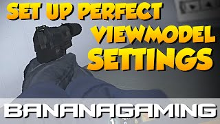 CS:GO - NOOB TO PRO - VIEWMODEL SETTINGS & TIPS