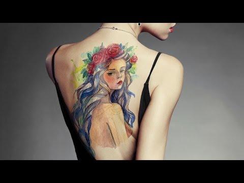 Poner Un Tatuaje Realista Con Photoshop