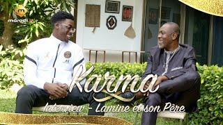 Série Karma - Lamine et son père en toute complicité