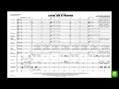 Livin' on a Prayer arranged by Paul Murtha