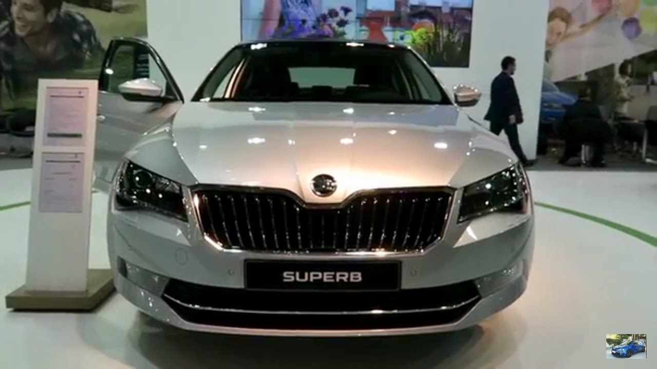 NEW 2017 Skoda Superb - Exterior & Interior - YouTube
