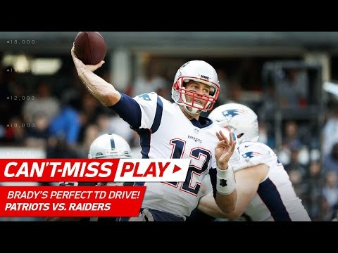 Tom Brady Goes 9 for 9 on Opening TD Drive vs. Oakland! | Can't-Miss Play | NFL Wk 11 Highlights