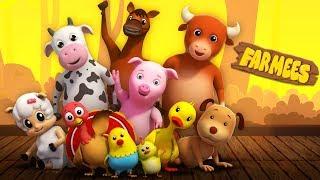 Nursery Rhymes Cartoons for Kids | Baby Songs by Farmees