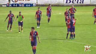 Eccellenza Spareggi - Cuoiopelli-Torres 0-3