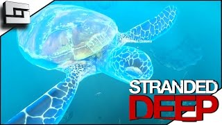 stranded deep gameplay sea turtle s2e14