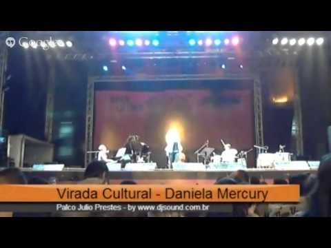 Daniela Mercury na 'Virada Cultura'