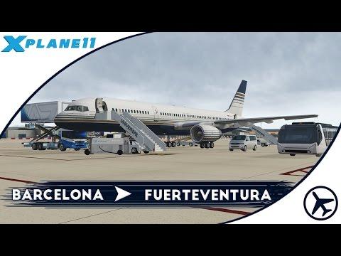 El nuevo Boeing de Vueling | BCN - FUE | Boeing 757-200 [Flight Factor] | XPlane 11