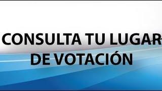 ONPE ¿DONDE ME TOCA VOTAR? Elecciones 2014 - ¿SOY MIEMBRO DE MESA?