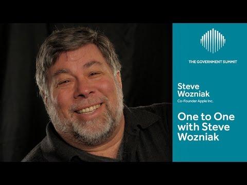 One to One with Steve Wozniak