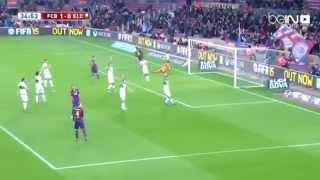 vuclip FCB Vs ELC Barcelona 5 - 0 Elche 9-1-2015 برشلونة 5 - 0 إلتشي