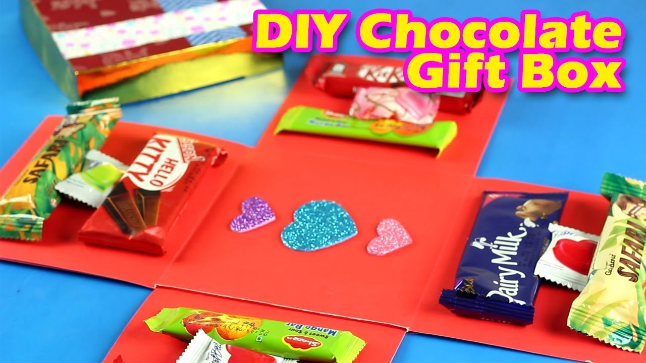 Creative Gift Wrapping Ideas ? DIY Chocolate Gift Box ? Christmas Gift Ideas | Paper Crafts ? & Creative Gift Wrapping Ideas ? DIY Chocolate Gift Box ? Christmas ...