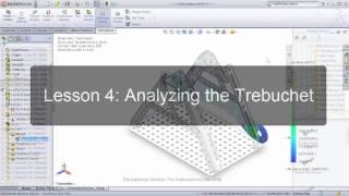 Solidworks Trebuchet Design Project