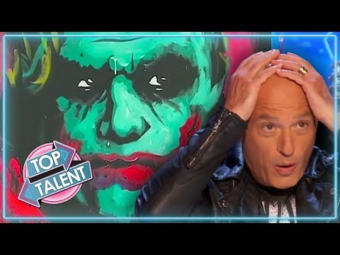AMAZING ART ACTS on Got Talent | Top Talent