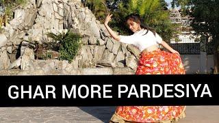 GHAR MORE PARDESIYA Dance | Kalank | Alia Bhatt, Madhuri Dixit, Varun Dhavan | Bollywood Dance cover