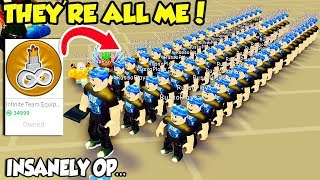 BUYING THE INFINITE TEAM EQUIPPED GAMEPASS IN FAME SIMULATOR!! *35k ROBUX* (Roblox)