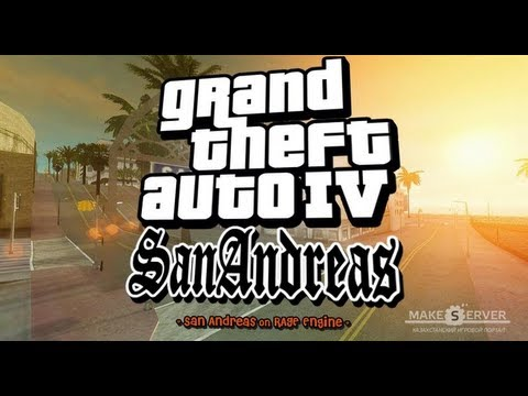 Обзор на Игру Gta 4 San Andreas. Beta 3.