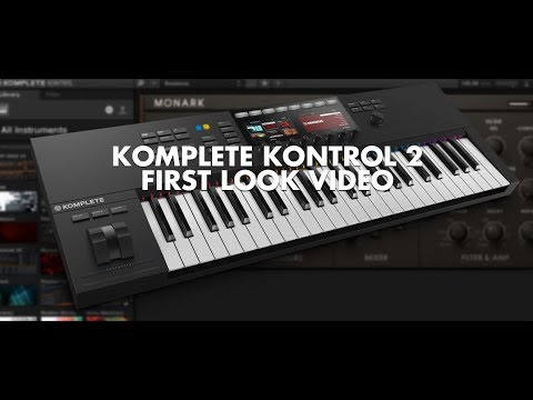 Native Instruments Komplete Kontrol MK2 First Look