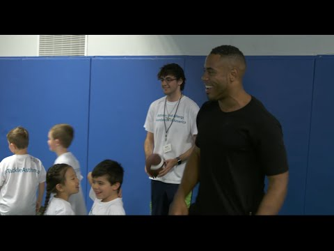 Rashad Jennings and AAFA Help Kids Tackle Asthma (PSA)