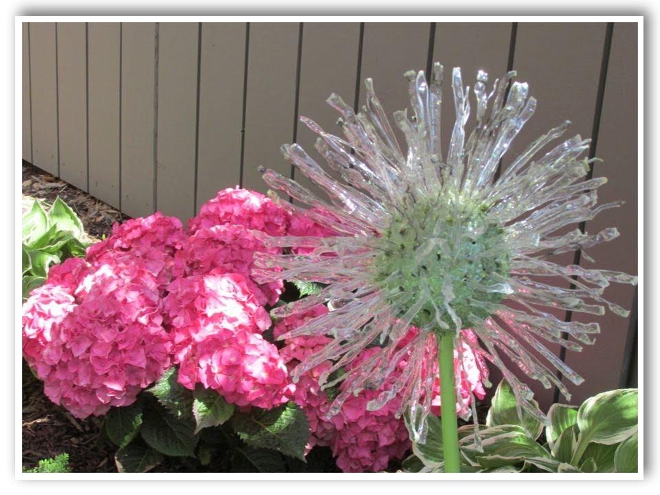 Diy recycled garden art dandelion inspired make something for Garden art to make