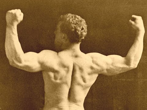 Eugen Sandow's Wrist Rotations For Forearms