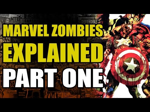 The Marvel Zombies destroy the Earth