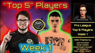 """TOP 5"" Players of Week 1! 