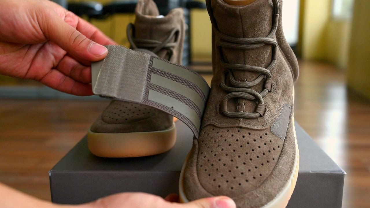 84eb5b0dc8c2c Adidas Yeezy Boost 750 Chocolate Review - YouTube