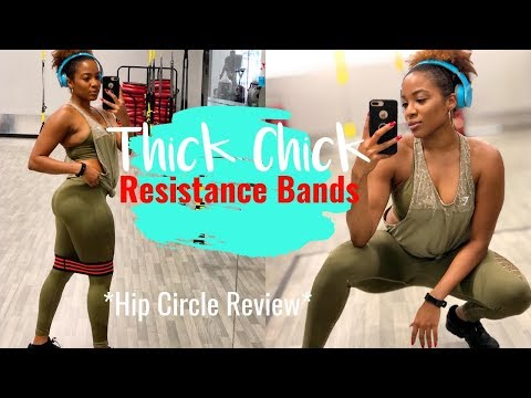 Resistance Band & Hip Circle Review | THICK THIGHS | DejaFitBeauty