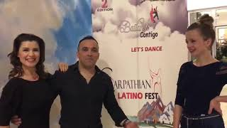 Franco Rocha #said yes# to 2nd Carpathian Latino Fest!  March 9 to 11 /2018