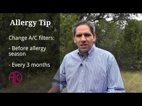 Tips to outsmart allergies: Change air filter – ADC